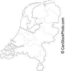 Map of Holland