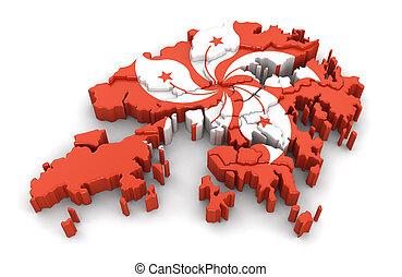 Map of Hong Kong