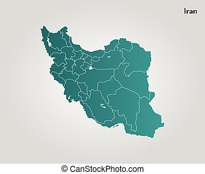 Map of Iran
