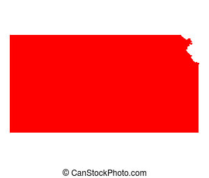 Map of Kansas