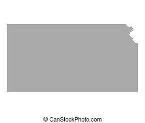 Map of Kansas