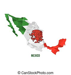 Map of Mexico.