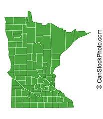 Map of Minnesota