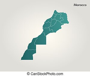 Map of morocco illustrations and clipart 1046 map of morocco map of morocco vector illustration world map gumiabroncs Images