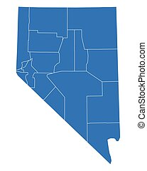 Map of Nevada