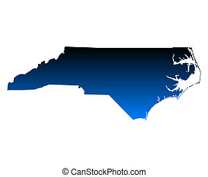 Map of North Carolina