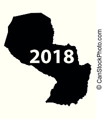 Map of Paraguay 2018