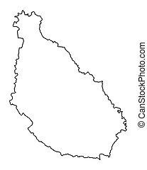 Map of Santiago