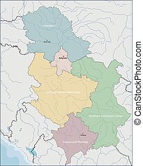 Map of Serbia - Serbia is a sovereign state situated at the...