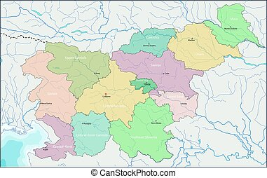 Map of Slovenia - Slovenia is a nation state in southern...