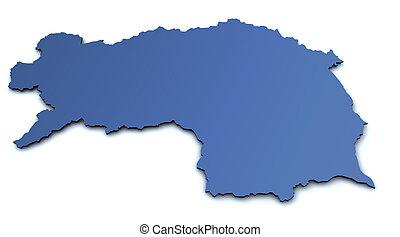 Map of Steiermark