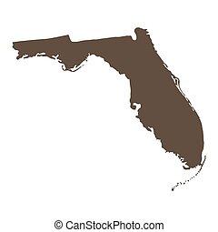 map of the U.S. state of Florida