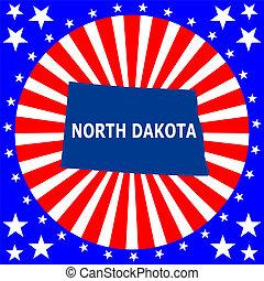 U.S. state of North Dakota