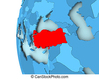 Map sakarya turkey 3dillustration Map of sakarya a stock