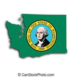 Map of Washington state