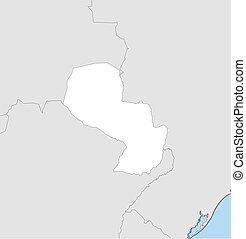 Map - Paraguay