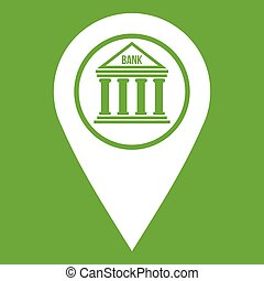 Map pin icon green