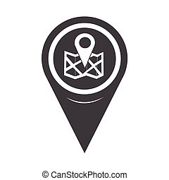 Map Pointer location icon