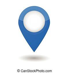 Map Pointer Vector Illustration