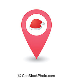 Map pointer with icon