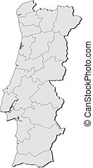 Map - Portugal