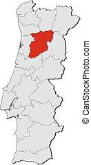 Map - Portugal, Viseu