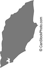 Map - Rocha (Uruguay)