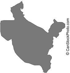 Map - Salah ad Din (Iraq)