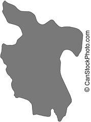 Map - San Martin (Peru)