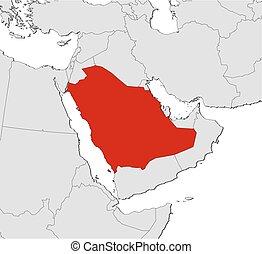 Map - Saudi Arabia