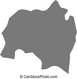 Map - Solola (Guatemala)
