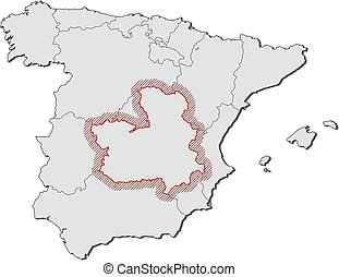 10 Castilla la mancha Vector Clip Art EPS Images
