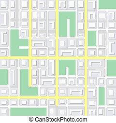 map., strada, navigazione, fondo