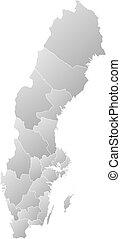 Map - Sweden