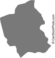 Map - Totonicapan (Guatemala)