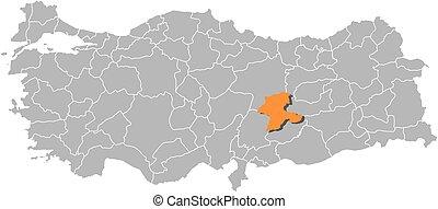 Map of turkey malatya Map of turkey where malatya province eps
