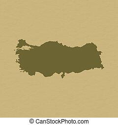 Map - Turkey