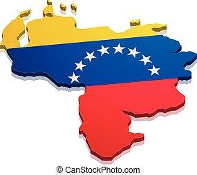 Map Venezuela