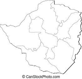 Map - Zimbabwe