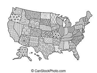map2, usa