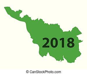 mapa, 2018, bremen