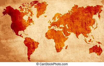 mapa, antigas