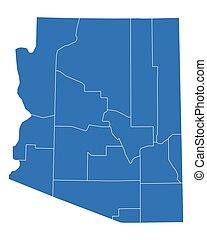 mapa, arizona