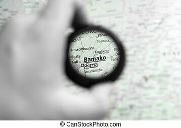 mapa, bamako