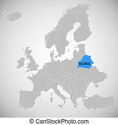 mapa, belarus, -