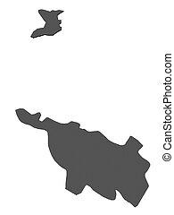 mapa,  -,  Bremen, alemania