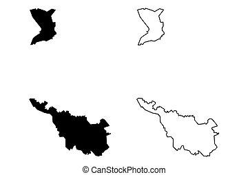 mapa, bremen