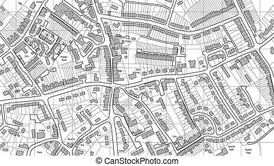 mapa, bydlení