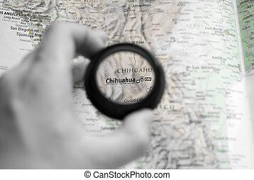 mapa, chihuahua