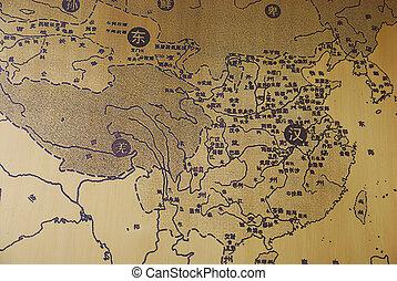 mapa, china